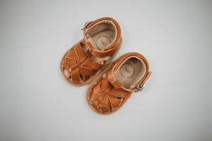 Quinn Sandal Walnut - Soft Sole