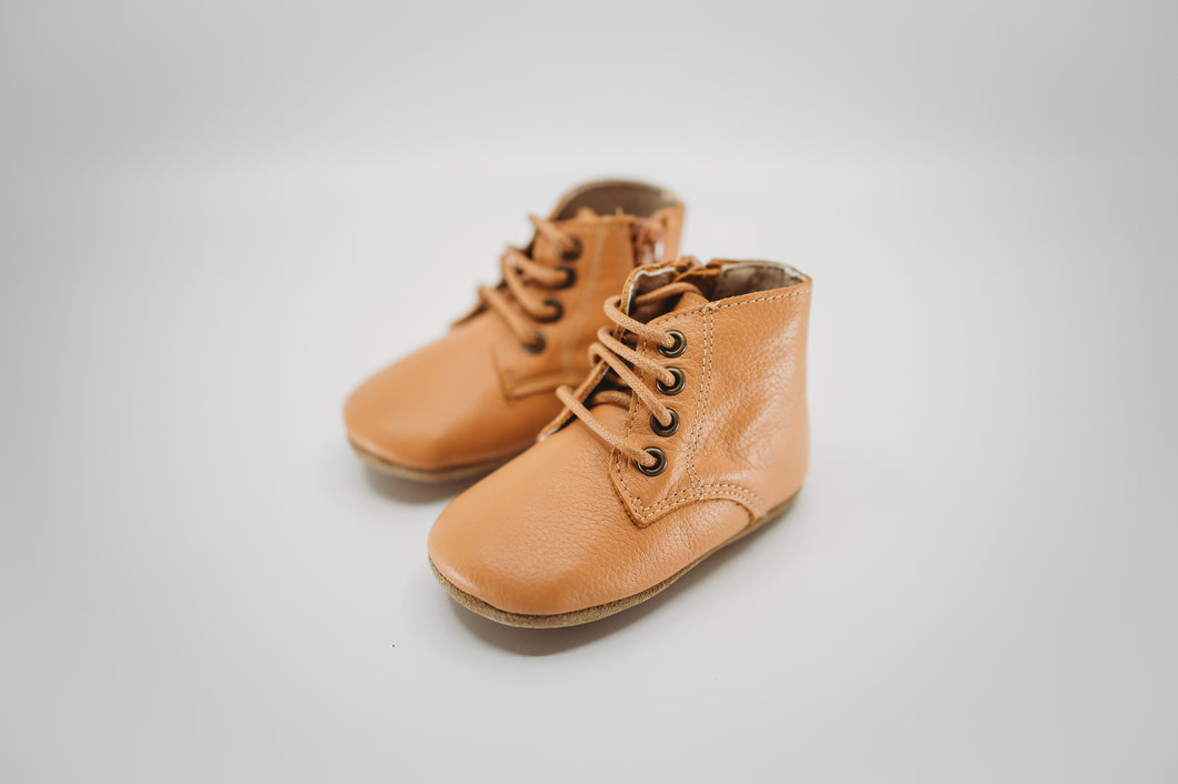 Bobby Boots Caramel - Soft Sole