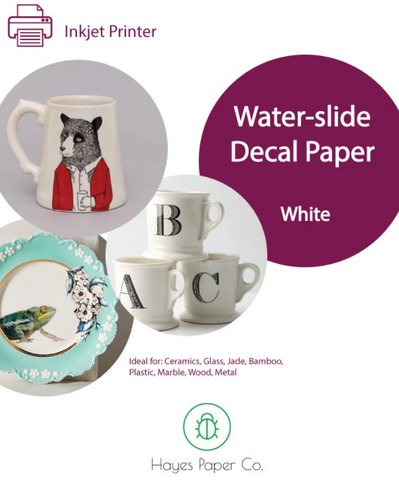Waterslide Paper (white)