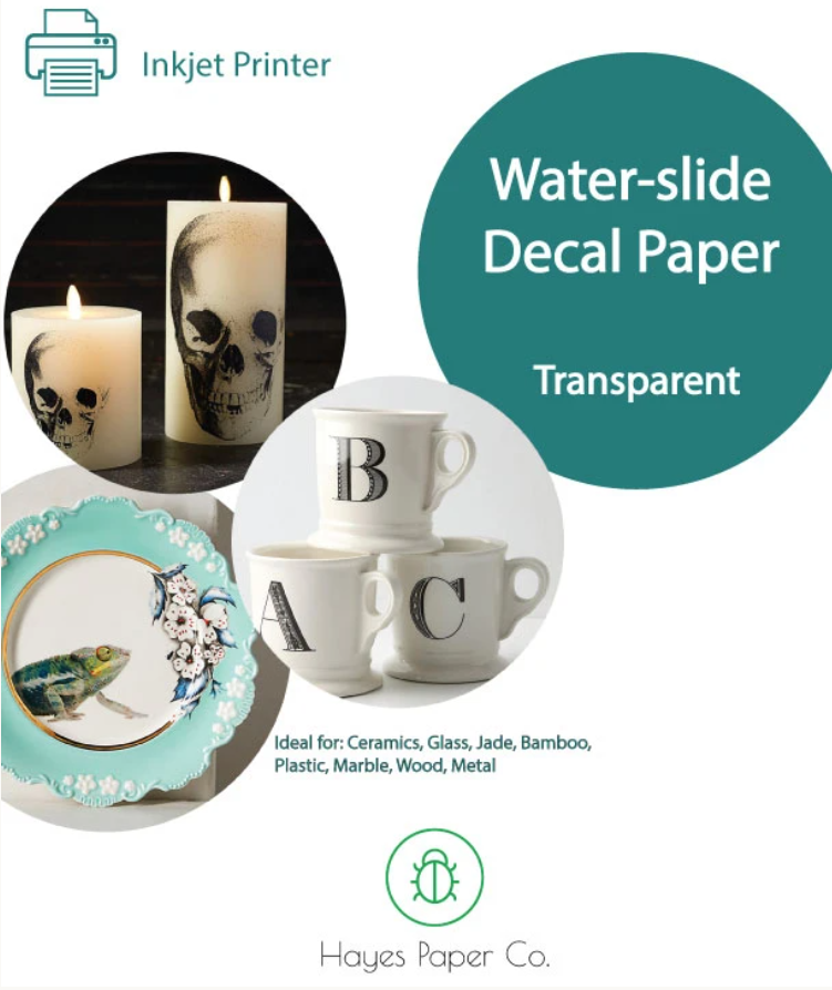 Waterslide Paper (clear)