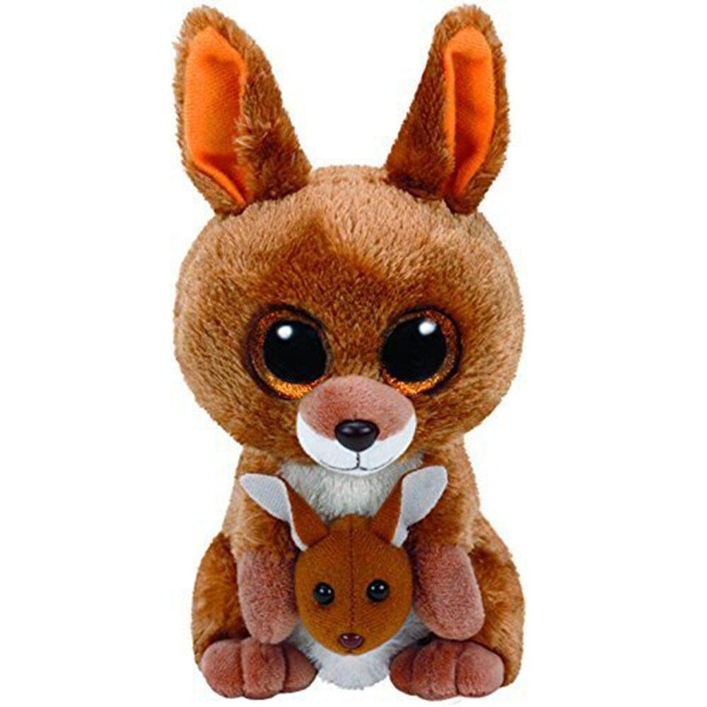 Peluche Kangourou<br> Ty avec gros yeux 18 cm