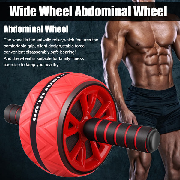 roll pain abdominal core trainer roller wheel
