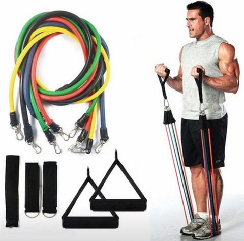 PainBands™ Home Workout Resistance Bands 11 Pcs Set
