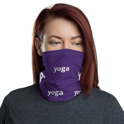 Image of Stylish YOGA Neck Gaiter Face Mask Protection