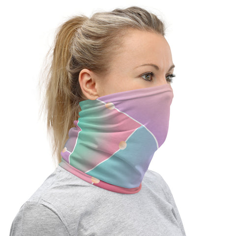 Image of Stylish Colorful Neck Gaiter Face Mask Protection