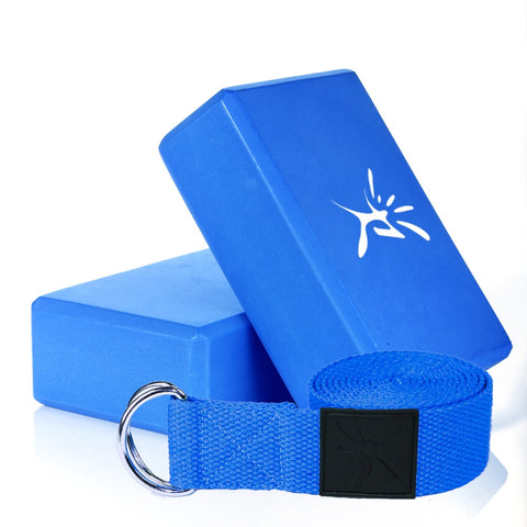 Yoga Block and Strap Set