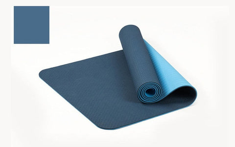 Image of 6MM Yoga Mat Reversible Dual Color with Carrying Strap