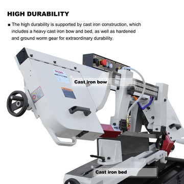 <transcy>BS-1018B 10 &quot;Aperture Band Saw Machine, 220V-60HZ-Single phase.</transcy>