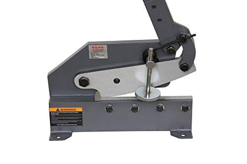 <transcy>KAKA 10-IN MANUAL HAND PLATE SHEAR, SOLID AND PRECISE SHEET METAL PLATE SHEAR</transcy>