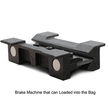 <transcy>KAKA Industrial BDS-6 6 Inches Vise Brake Die Set, Magnetic Vise Mount</transcy>