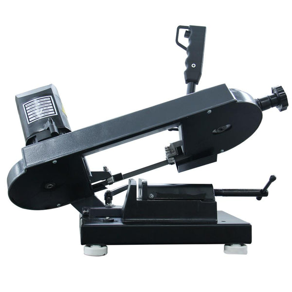 <transcy>KAKA Industrial BS-85 110V-60HZ-1PH Metal Cutting Band Saw, Mini Band Saw</transcy>