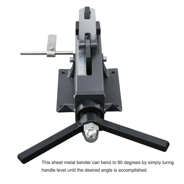 <transcy>KAKA Industrial FB-4 4-Inch Hand Operated Steel Bending Brake, Easy Operation Sheet Metal Forming Bender</transcy>