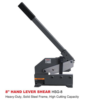 <transcy>HSG-8 Heavy Duty Manual Lever Shear for Sheet 8 &quot;(20cm.)</transcy>