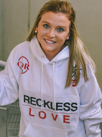 Reckless Love Hoodie - Saved By Christ Apparel