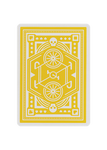 Wheels Playing Cards - Yellow