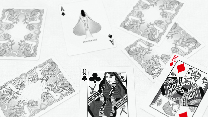 Innocence Playing Cards - 52 Wonders Playing Cards Spielkarten Bicycle Fontaine Anyone Orbit Butterfly