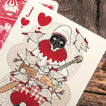 Pinocchio Playing Cards - Vermilion