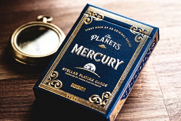 Planet Mercury Playing Cards - Numbered Seal - 52 Wonders Playing Cards Spielkarten Bicycle Fontaine Anyone Orbit Butterfly