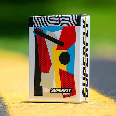 Superfly Playing Cards - Stardust - 52 Wonders Playing Cards Spielkarten Bicycle Fontaine Anyone Orbit Butterfly