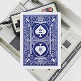 Bicycle 8 Bit Playing Cards - Blue