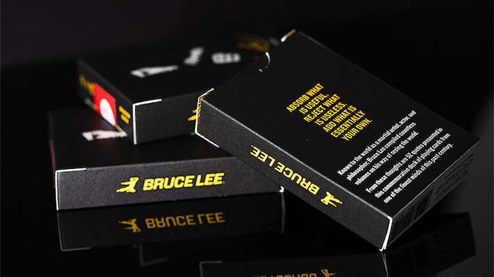 Bruce Lee Playing Cards V2 - 52 Wonders Playing Cards Spielkarten Bicycle Fontaine Anyone Orbit Butterfly