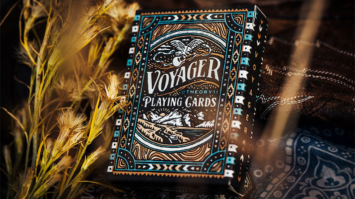 Voyager Luxury Playing Cards - 52 Wonders Playing Cards Spielkarten Bicycle Fontaine Anyone Orbit Butterfly