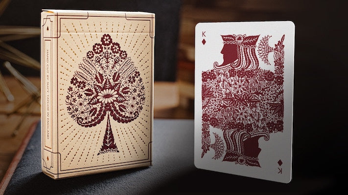 Papercuts Playing Cards - 52 Wonders Playing Cards Spielkarten Bicycle Fontaine Anyone Orbit Butterfly