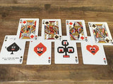 Bicycle 8 Bit Playing Cards - Red