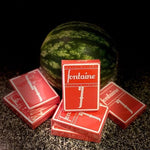 Fontaine Playing Cards - Watermelon