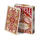 Bicycle Agenda Facade Playing Cards - Standard