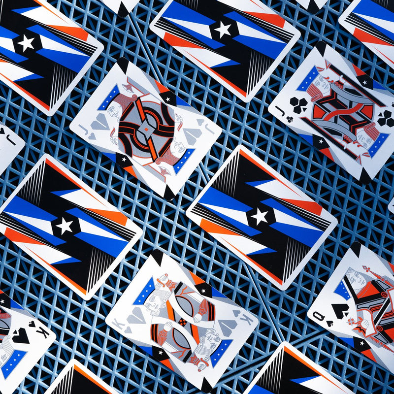 All Star Playing Cards - 52 Wonders Playing Cards Spielkarten Bicycle Fontaine Anyone Orbit Butterfly