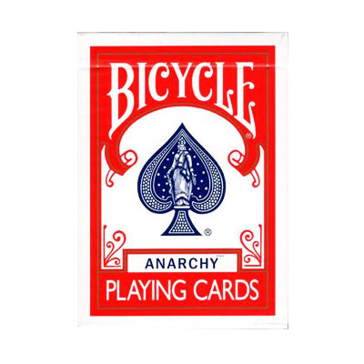 Anarchy by Ryan Goh - 52 Wonders Playing Cards Spielkarten Bicycle Fontaine Anyone Orbit Butterfly