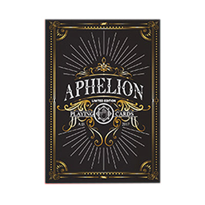 Aphelion Playing Cards - Black