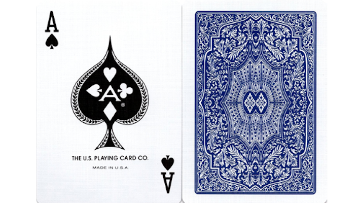 Arrco Playing Cards - Blue - 52 Wonders Playing Cards Spielkarten Bicycle Fontaine Anyone Orbit Butterfly