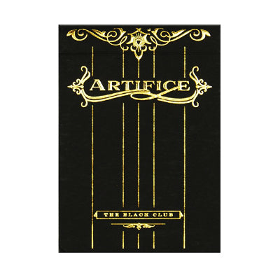 Artifice Playing Cards - Limited Gold - 52 Wonders Playing Cards Spielkarten Bicycle Fontaine Anyone Orbit Butterfly
