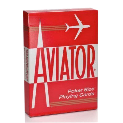 Aviator Playing Cards - Red