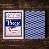 Bee Casino Playing Cards - Blue