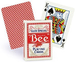 Bee Casino Playing Cards - Red