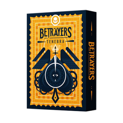 Betrayers Playing Cards - Tenebra - 52 Wonders Playing Cards Spielkarten Bicycle Fontaine Anyone Orbit Butterfly
