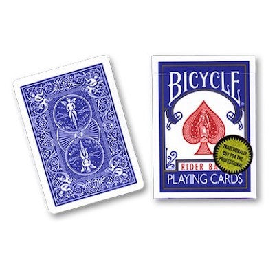 Bicycle Playing Cards - Gold Standard - Blue - 52 Wonders Playing Cards Spielkarten Bicycle Fontaine Anyone Orbit Butterfly