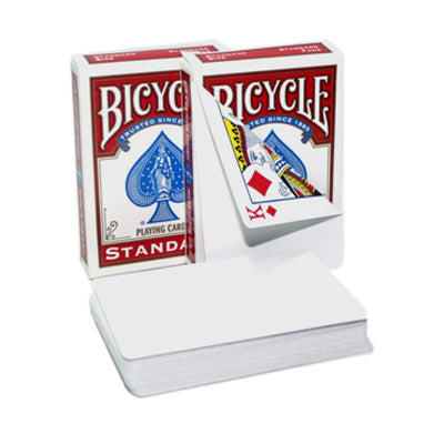 Bicycle Blank Back Playing Cards