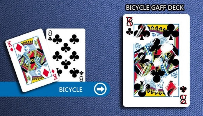 Bicycle Playing Cards  Gaff Deck - Red - 52 Wonders Playing Cards Spielkarten Bicycle Fontaine Anyone Orbit Butterfly