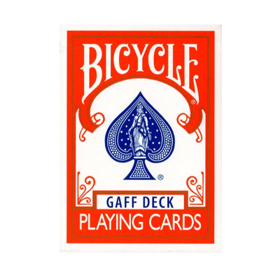 Bicycle Playing Cards - Gaff Deck - Red