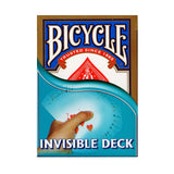 Bicycle Playing Cards - Invisible Deck - Blue