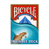 Bicycle Playing Cards - Invisible Deck - Red