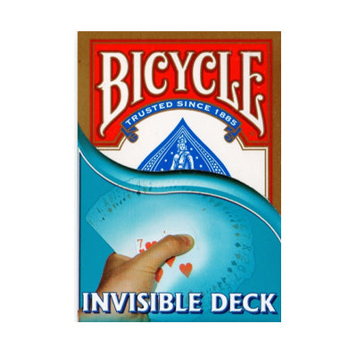 Bicycle Playing Cards - Invisible Deck - Red - 52 Wonders Playing Cards Spielkarten Bicycle Fontaine Anyone Orbit Butterfly