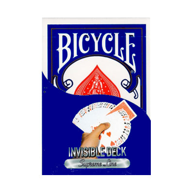 Bicycle Invisible Deck Supreme Line - Blue