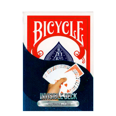 Bicycle Invisible Deck Supreme Line - Red - 52 Wonders Playing Cards Spielkarten Bicycle Fontaine Anyone Orbit Butterfly