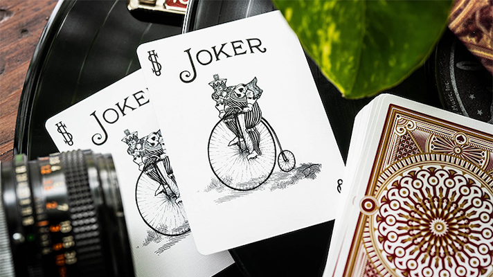 Bicycle Scarlett Playing Cards - 52 Wonders Playing Cards Spielkarten Bicycle Fontaine Anyone Orbit Butterfly