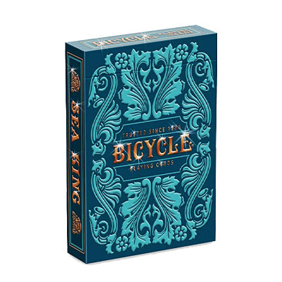 Bicycle Sea King Playing Cards - 52 Wonders Playing Cards Spielkarten Bicycle Fontaine Anyone Orbit Butterfly